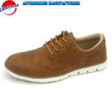 Nuevo Brogue hombres zapatos casuales con cuero de PU