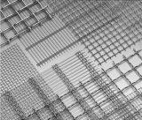 砕石機の振動スクリーンの網の/Crimpedの金網