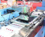 Baumwollbandkennsatz-automatische Bildschirm-Drucken-Maschine 2colors