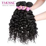 Migliore 100% tessuto riccio italiano di vendita dei capelli umani di Remy del Virgin dei Peruvian di Yvonne