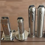 Moulage en acier inoxydable de la main courante de verre ergots d'Escrime (Balustrade graisseurs)