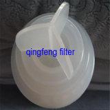 Cartuccia di filtro pieghettata materiale battericida ideale dall'acqua della sede potenziale di esplosione pp del filtro