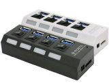 de Hub van de Hoge snelheid 4ports USB3.0