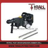 Thrall DHD-58 moteur à essence portable rock drilling rig marteau pour la pierre de la machine