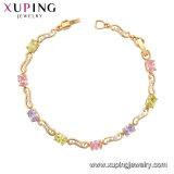 Braccialetto multicolore di lusso delle donne di Xuping