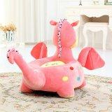아이들 장난감 아기 의자가 채워진 동물성 승진 견면 벨벳에 의하여 농담을 한다