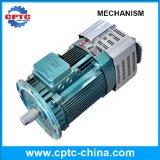 Elevador de pasajeros del sistema de transmisión de tres motores modelo Gjj