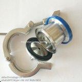 Válvula de verificação sanitária 304/316L do sopro do ar