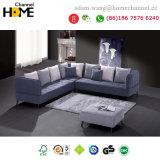 Sofà moderno nordico del tessuto del salone per mobilia domestica (HC569)