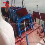 moteur diesel hydraulique Powered récolteuse de mauvaises herbes aquatiques entièrement automatique