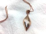 Halsband van de Diamant van de Verklaring Zircon van de Juwelen van de manier de Vierkante Kubieke voor Vrouwen