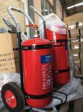 50kg carro extintor de polvo seco