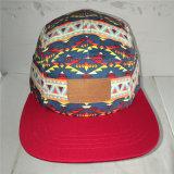 La mode des chapeaux Snapback avec Patch en cuir