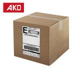 Impression de fournisseur de la Chine empaquetant des collants de papier thermosensible 2 étiquettes par étiquettes de logistique de feuille