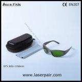 Laserpairからのめがねを保護する800の- 1700nm Od 4+及び900 - 1100nm Od 5+のレーザーの安全ガラス
