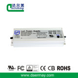 Condutor LED impermeável com certificação UL 150W 24V 6A