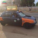Premier panneau visuel d'Afficheur LED de taxi pour montrer le message mobile