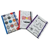 Elastic Band, Stationery Notebook를 가진 단단한 Cover A5 School Notebook
