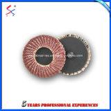 Borboleta de lixa Diamante abrasivo flexível com disco de plástico