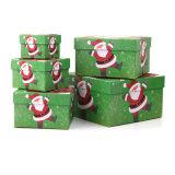 Contenitore di carta impaccante di alta qualità di regalo sveglio all'ingrosso del quadrato