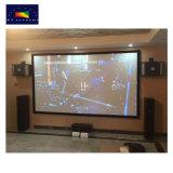 영화관이 Xy 스크린 공장에 의하여 HD를 위한 80~200 인치 16:9 고정 프레임 영사막 집으로 돌아온다
