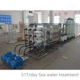 Industrielles reines trinkendes Wasser-Filter-System der umgekehrten Osmose-250L 500L 1000L 2000L mit EDIro-Wasserbehandlung
