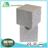 El panel clasificado de los sonidos de Exteriour del panel de emparedado del cemento EPS de la fibra de la pared del fuego exterior concreto ligero