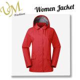 주문 여자는 중앙 길이 작풍 외부 착용 바람 외투 재킷을 방수 처리한다