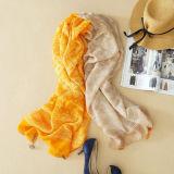 2018多彩なステッチのショールのレトロの民俗ボイルのスカーフの日焼け止めの絹のスカーフ
