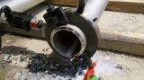 SKD électrique de série du tuyau de fractionner le cadre de la machine de découpe et de biseau