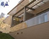 構築の外部の装飾の壁のクラッディングパネルの木製の合成物WPCのパネル