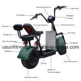 2018 Nova e Poderosa Scooter eléctrico verde com 01- 60V 2000watt de adultos do Motor sem escovas