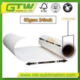 Бумага сублимации Fu 50GSM высокого качества с 3 покрытиями