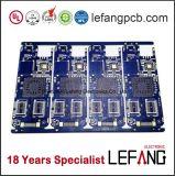 8 couches de l'ENIG de soudure bleue de carte de cuivre lourde de carte à circuit