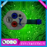 Modificar el interruptor de membrana para requisitos particulares táctil En71/CCC del certificado brillante del control Kepad