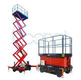 Eleitor elevador de tesoura (móvel)