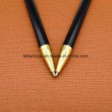 Court-cadeau De Luxe avec Stylo en métal laqué noir (LT-E115)
