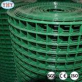 Grüne Farben-Kurbelgehäuse-Belüftung beschichtete geschweißte Maschendraht-Rolle
