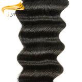 Волосы малайзийца девственницы надкожицы длиннего способа Remy людского полные