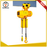 1t max load type Electric chain Hoist with Trolley