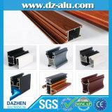 Profil en aluminium pour la porte de guichet de matériau de construction