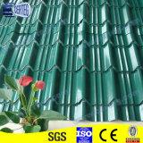 Telhas de telhado revestidas Prepainted do zinco com preço barato