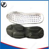 Noir avec les bas de chaussure/les semelles faits sur commande chaussure de mode