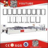 Guante plástico del PE del control de ordenador de la marca de fábrica del héroe que hace la máquina (DHB-600)
