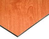 Панель Compoiste деревянного зерна алюминиевая для шкафа от фабрики