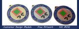 Médaille en métal du modèle 3D de propriétaire avec le bon prix