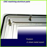 Blech Herstellung kundenspezifischer CNC, der erstklassige Aluminiumteile maschinell bearbeitet