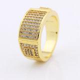 Venta caliente anillos CZ Joyas para hombres Made in China fabricante