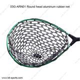 rundes Hauptaluminiumgumminettolandung-Netz der fliegen-03A-Arn01