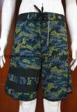 Beachwear colorido floral do Swimwear do Short da ressaca da cópia para homens/mulheres